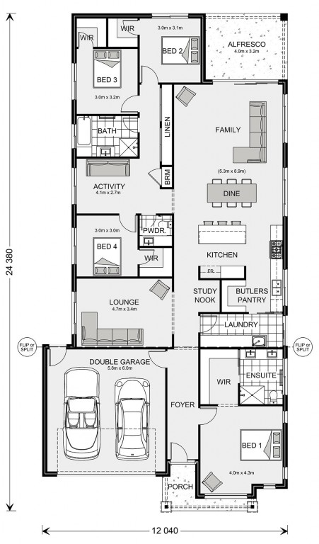 Fairhaven 258 Floorplan