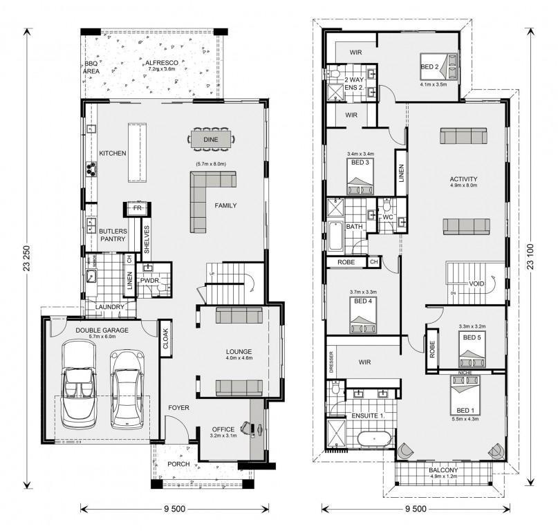 Kingscliff 421 Floorplan