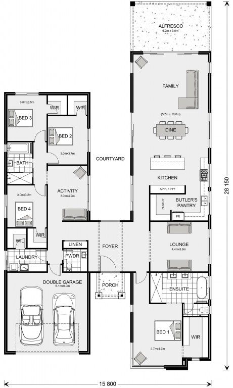Oakford 320 Floorplan