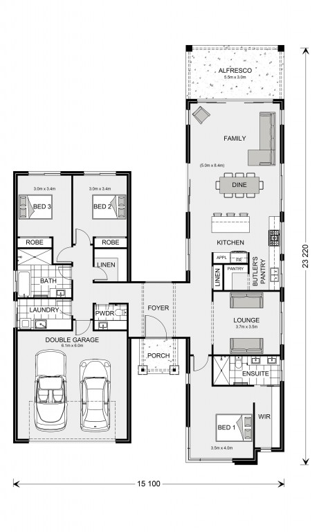 Oakford 240 Floorplan