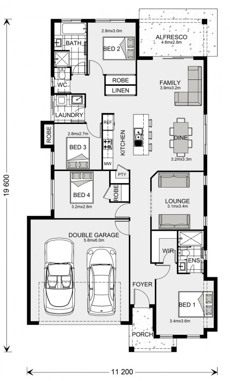 Bridgewater 187 Floorplan