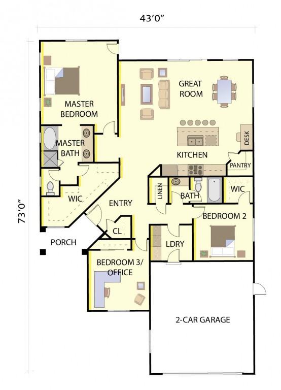 Express 1847 Floorplan