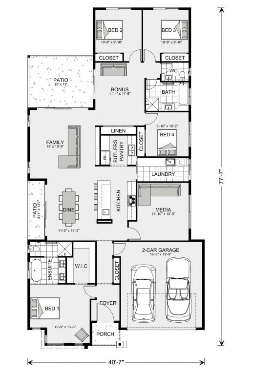 Benowa 2071 Floorplan