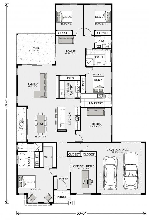 Benowa 2276 Floorplan