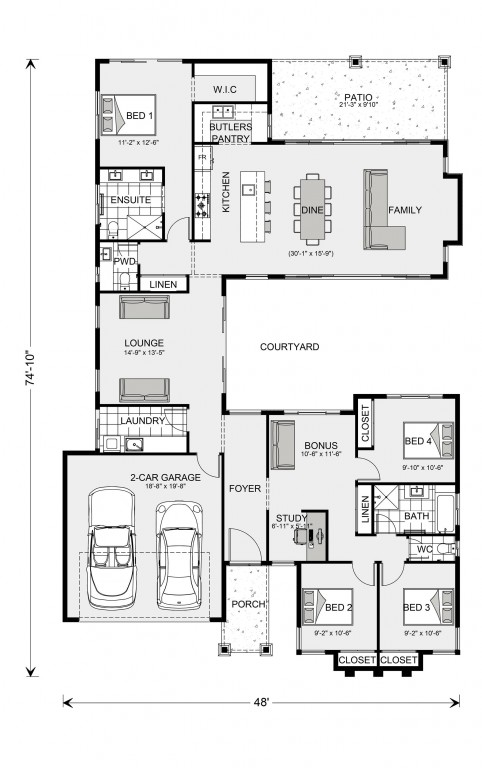 Mandalay 2067 Floorplan