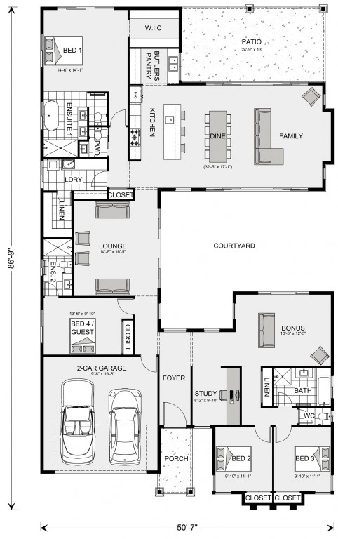 Mandalay 2728 Floorplan
