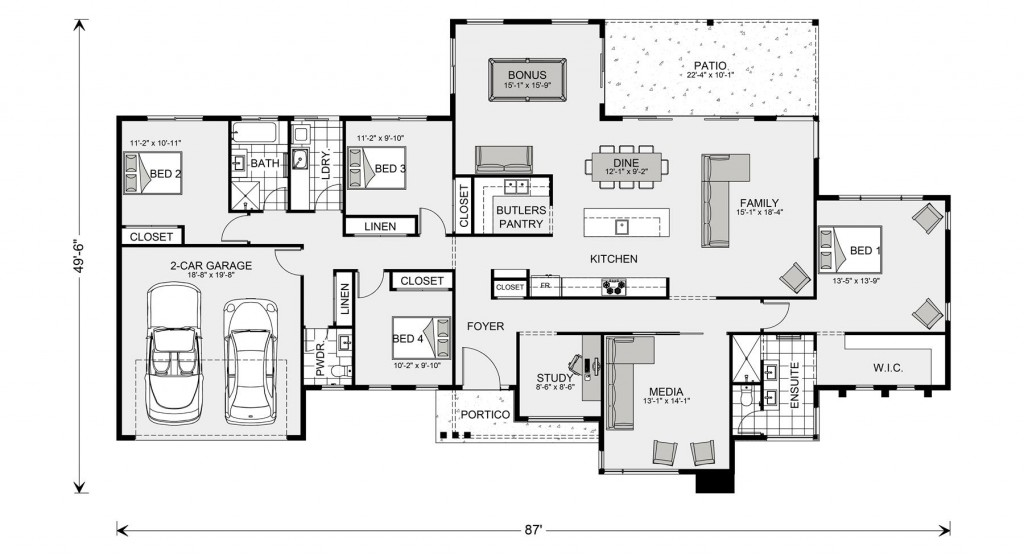 Somerset 2449 Floorplan