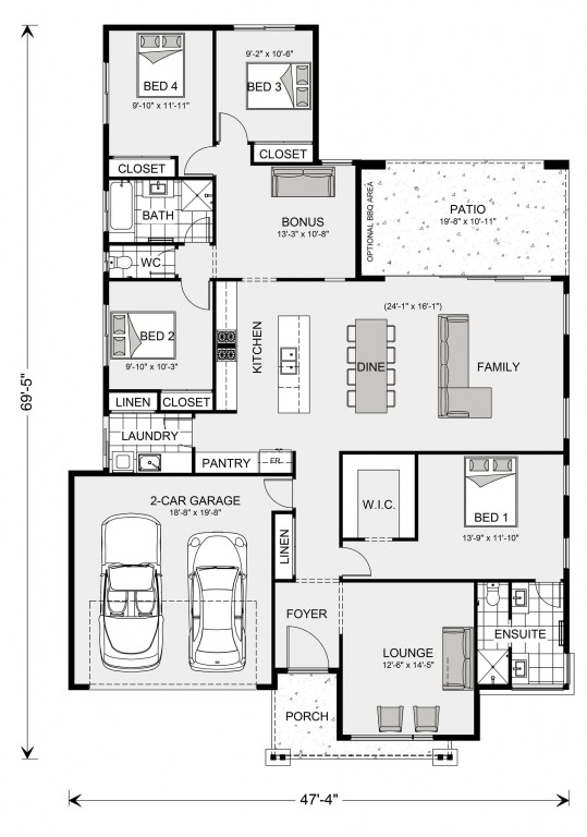 Vista 1981 Floorplan