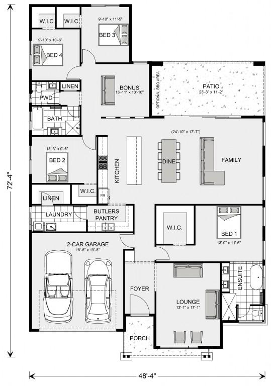 Vista 2285 Floorplan