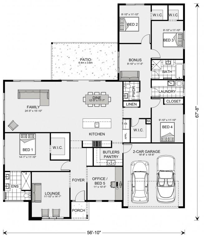 Wide Bay 2383 Floorplan