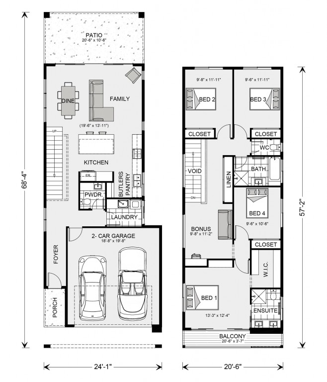 Pine Rivers 1795 Floorplan