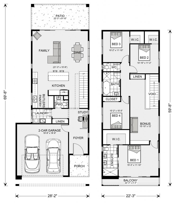 Pine Rivers 2089 Floorplan