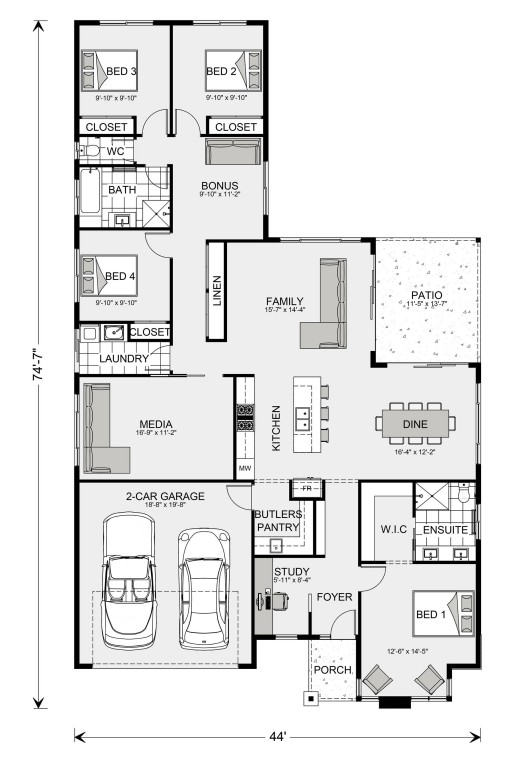 Coolum 2012 Floorplan