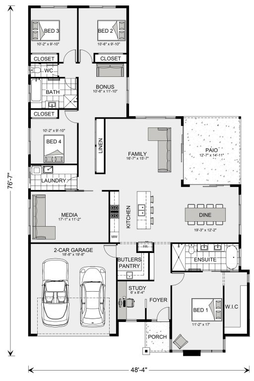Coolum 2224 Floorplan