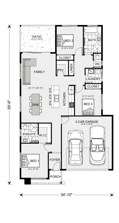 Bridgewater 1269 Floorplan