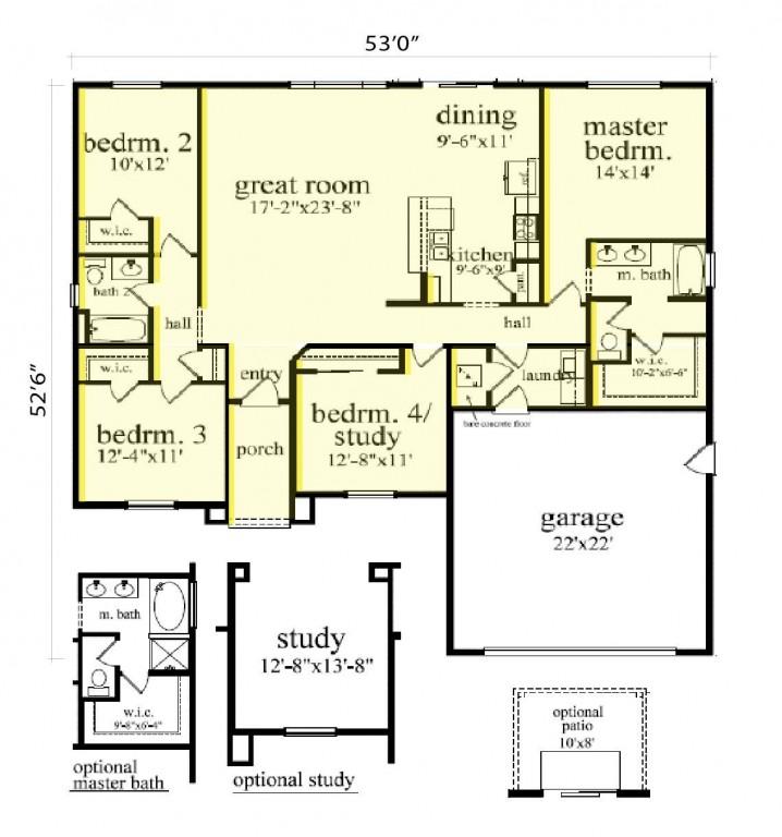 Sterling 1816 Floorplan