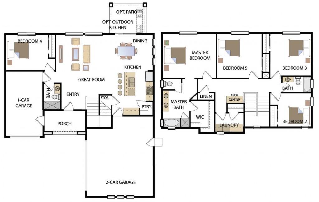Sedona 2512 Floorplan