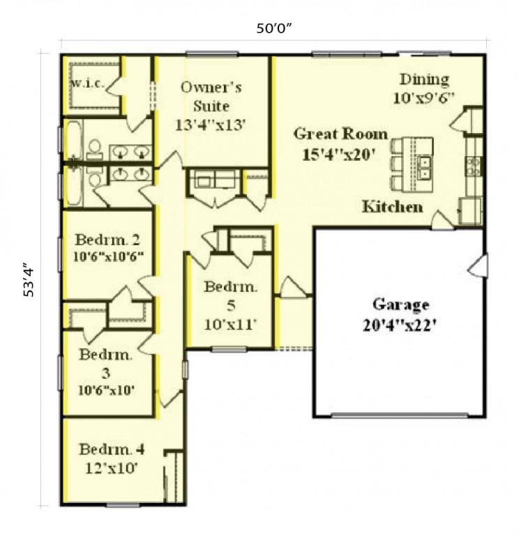 Windsor 1704 Floorplan