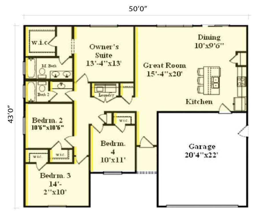 Avalon 1548 Floorplan
