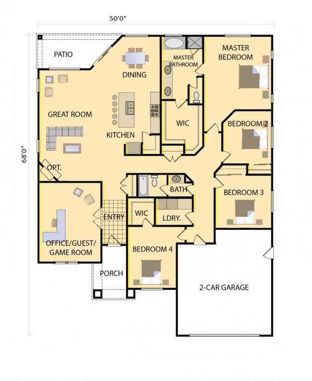 Morgan 2410 Floorplan