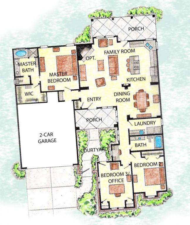 Magnolia 1765 Floorplan