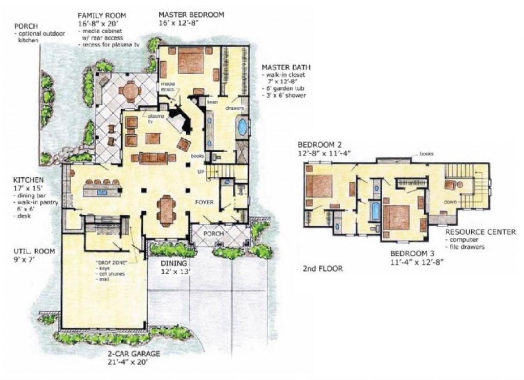 Cypress 2505 Floorplan