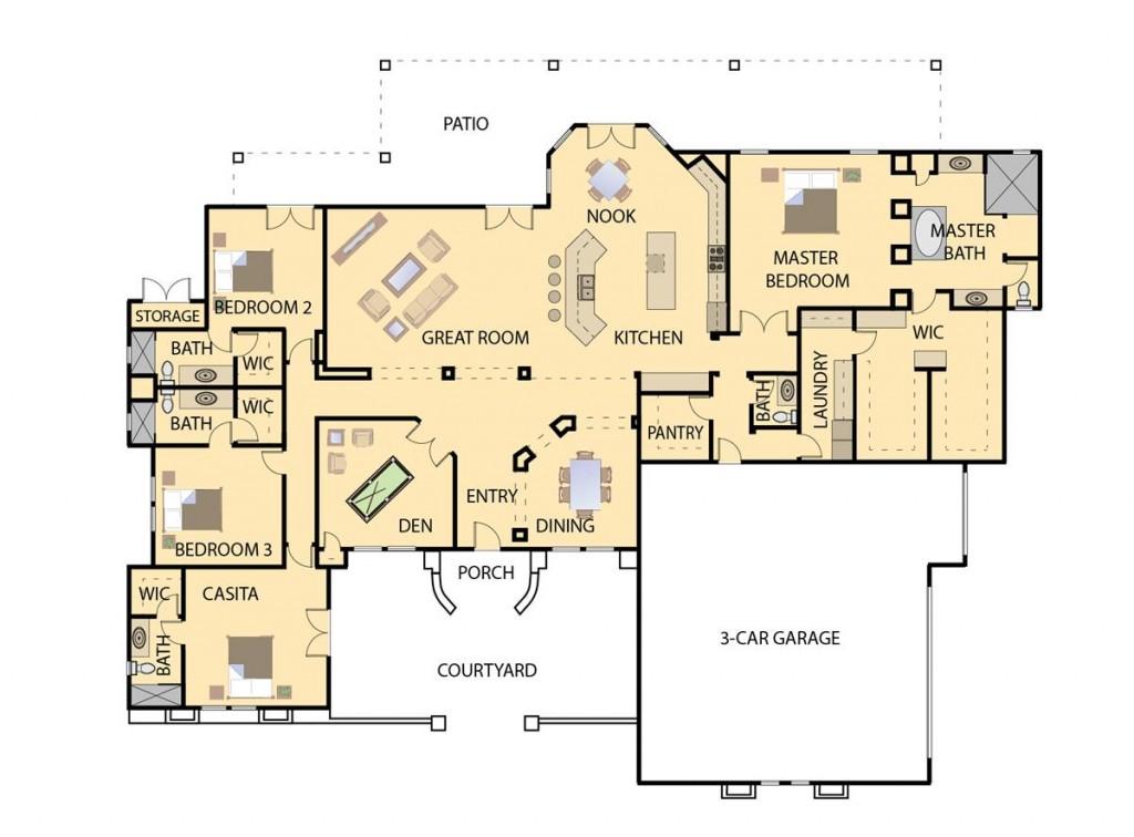 Arbor 3543 Floorplan