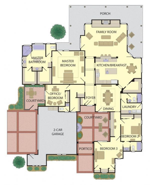 Aspen 3058 Floorplan