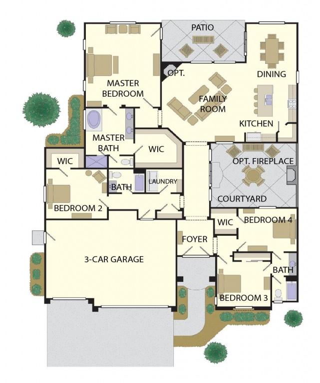 Dogwood 2702 Floorplan