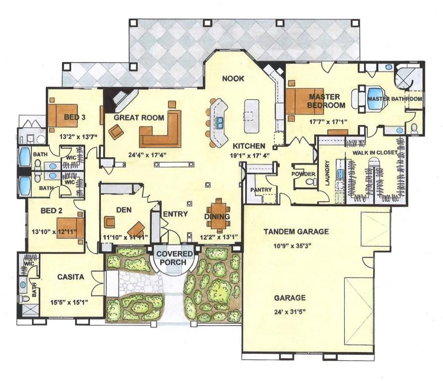 Sycamore 3885 Floorplan