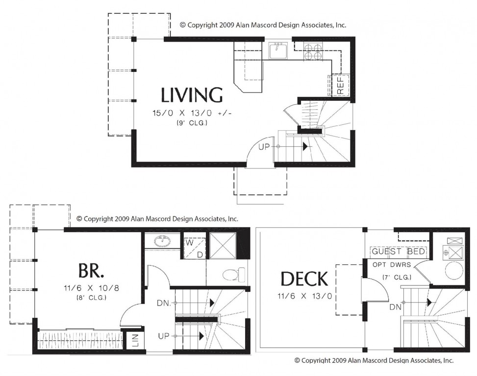 ADU – The San Diego 728 Floorplan