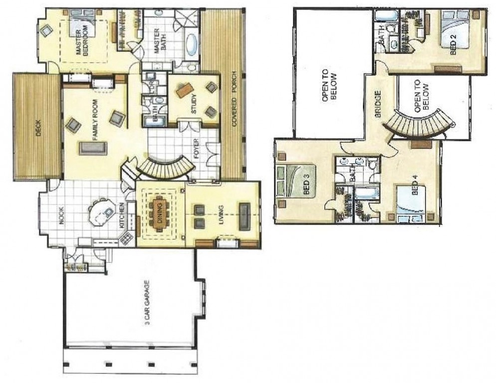 Arrowhead Lodge 3585 Floorplan