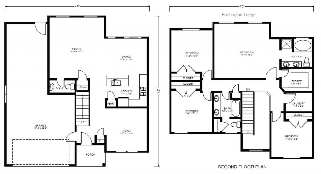 Huntington Lodge 2032 Floorplan