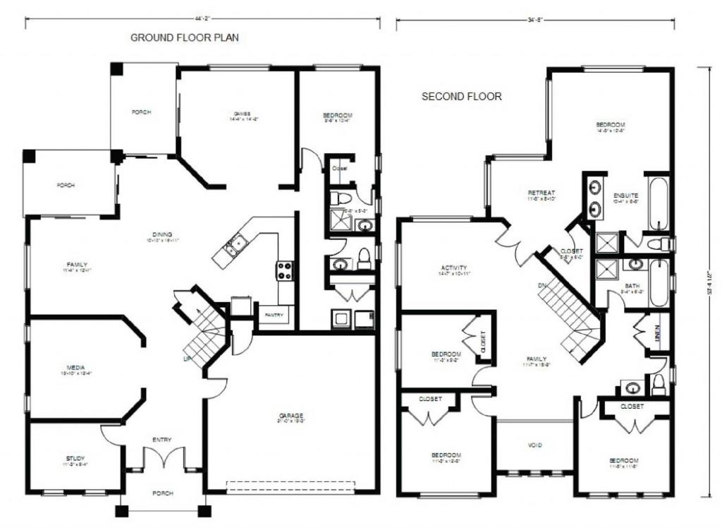 Eagle Creek Lodge 3215 Floorplan