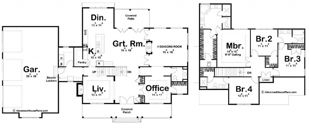 Addison Farm 2675 Floorplan