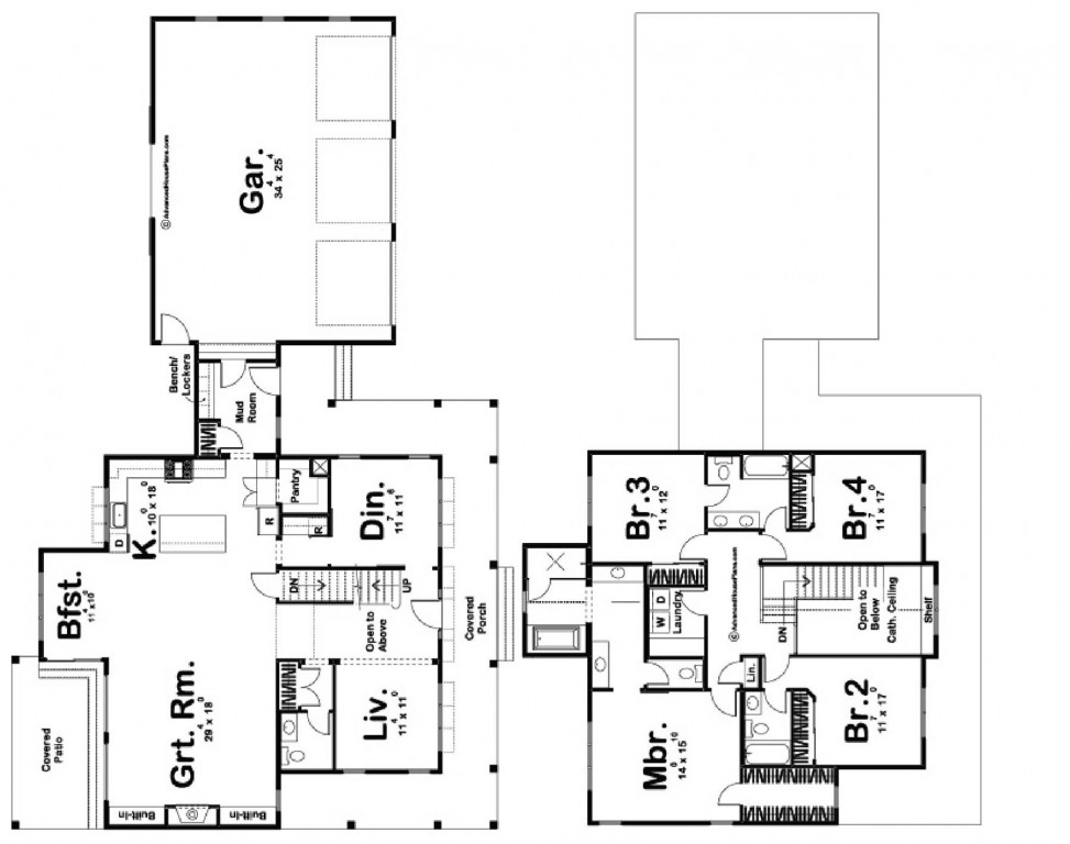 Austin 2835 Floorplan