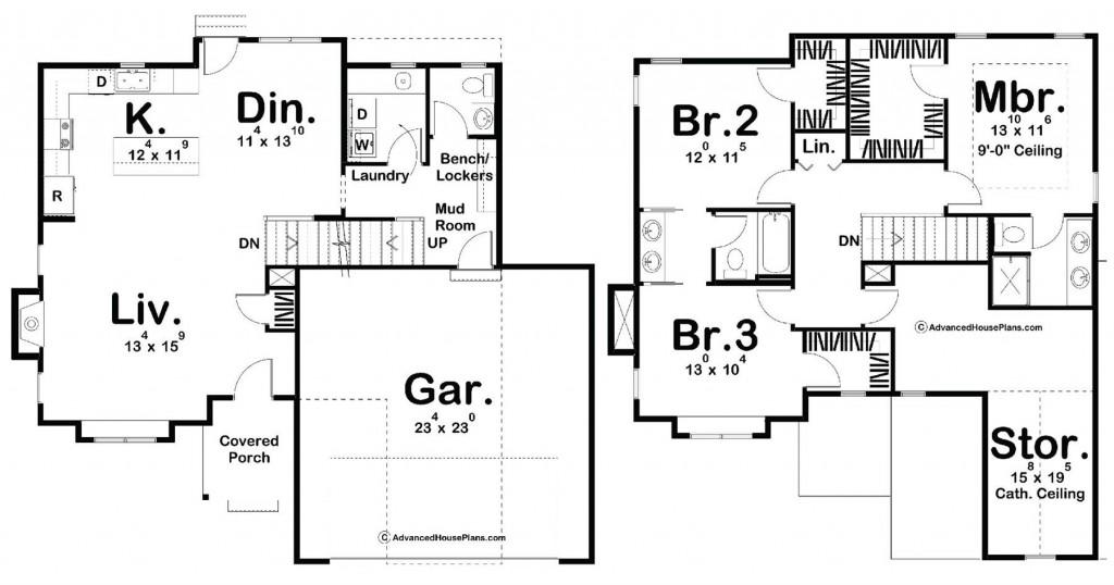 Bradley Farms 1753 Floorplan