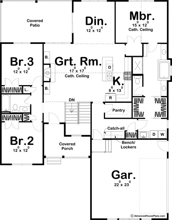 Cherry Creek 1797 Floorplan
