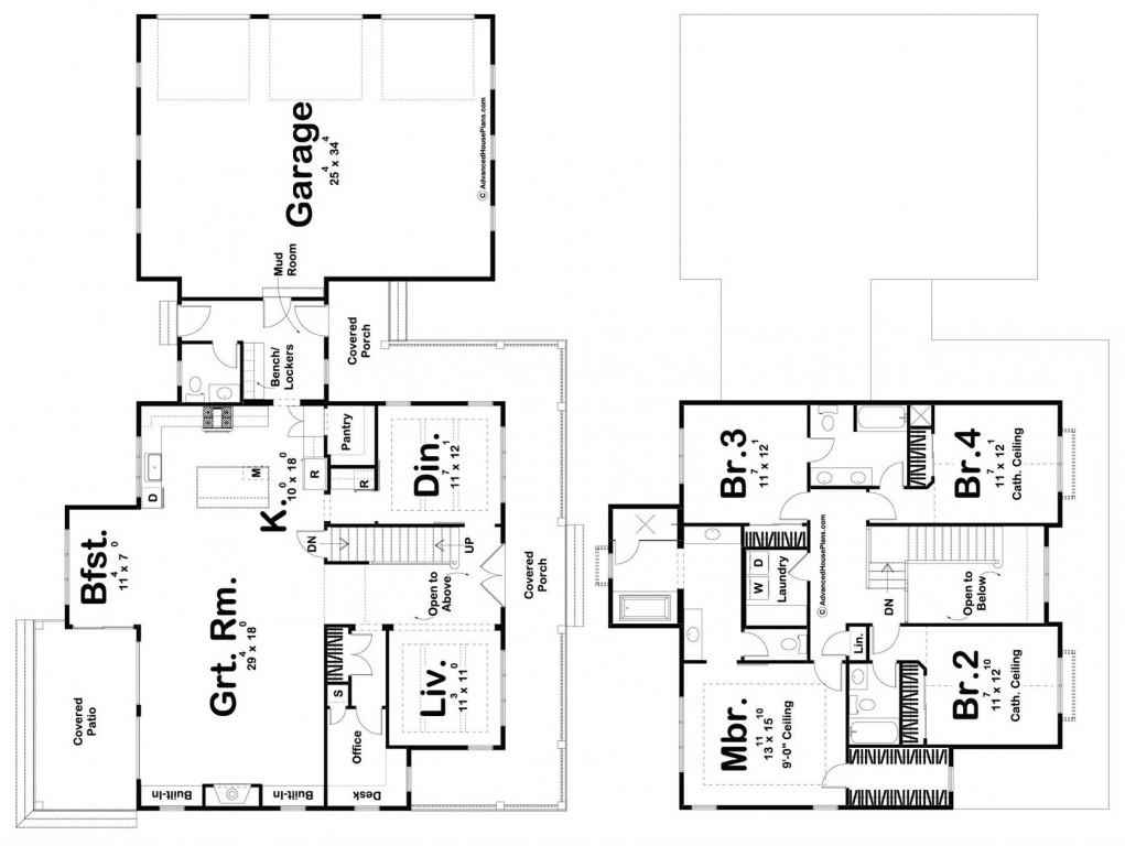 Houston 2970 Floorplan