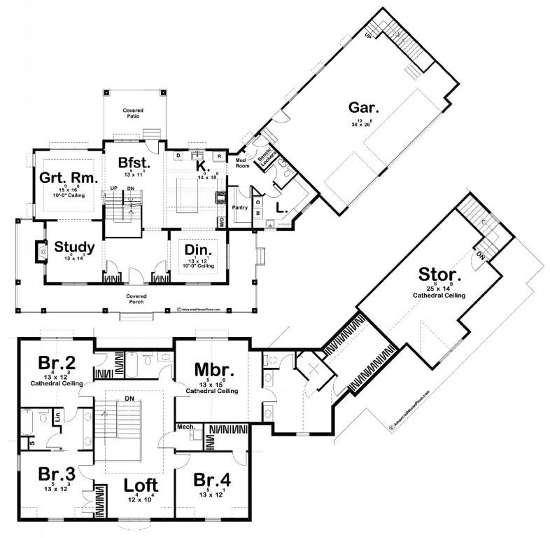 Melrose 3467 Floorplan