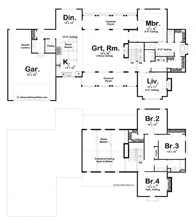 Rosewood 2857 Floorplan