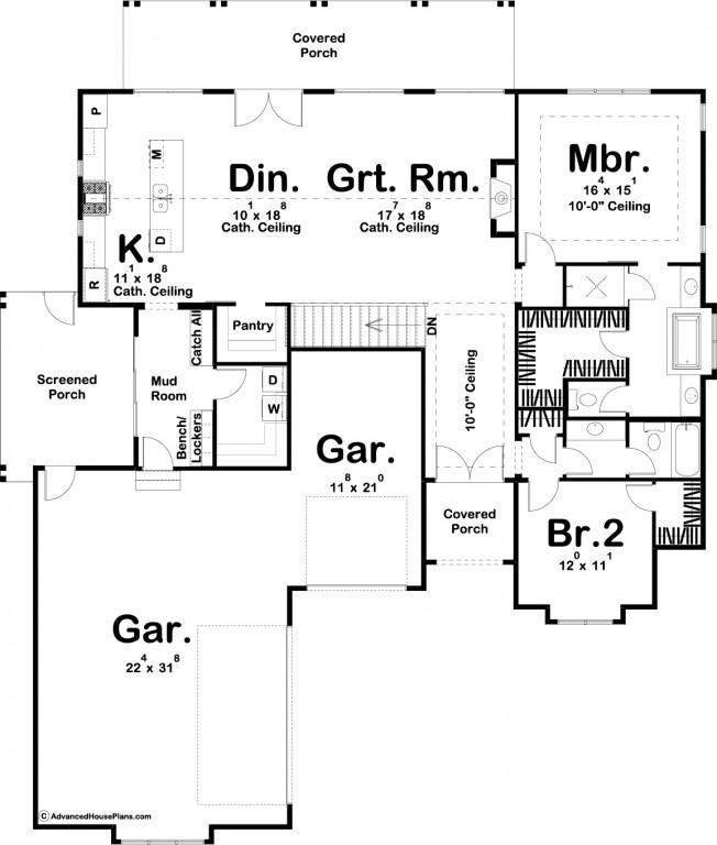 Sanibel 1900 Floorplan