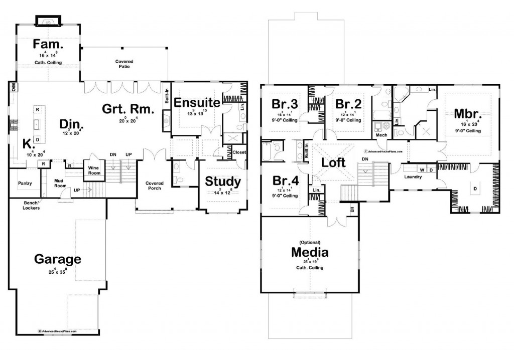 Thousand Oaks 4086 Floorplan