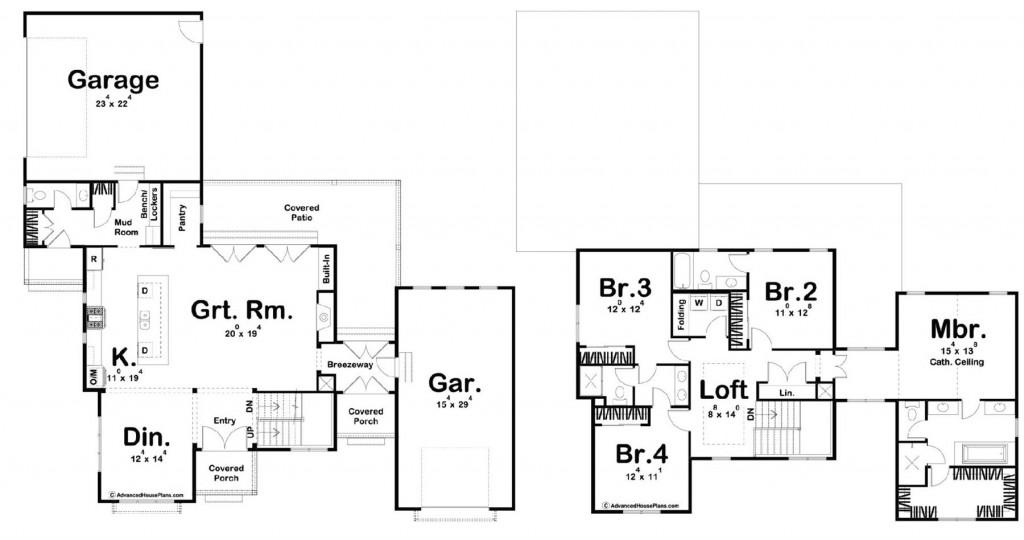 Crawford Farm 2771 Floorplan