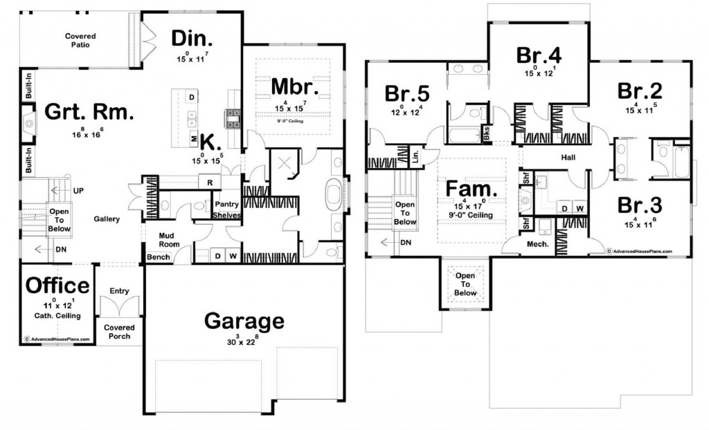 Grant Park 3394 Floorplan