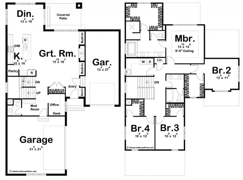 Pickering 2417 Floorplan