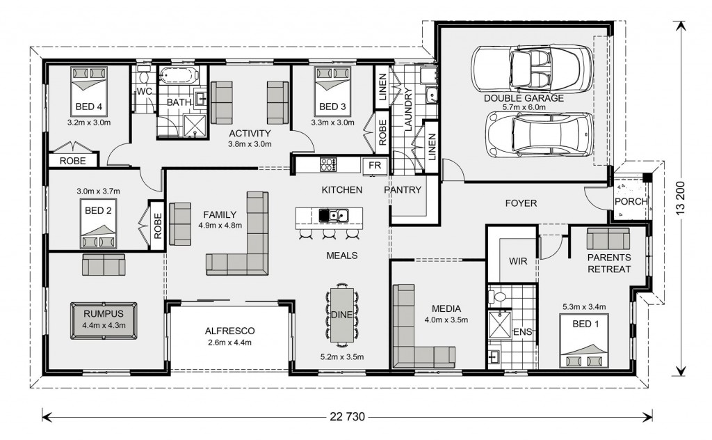 Springbrook 270 Floorplan