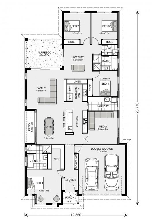 Benowa 260 Floorplan