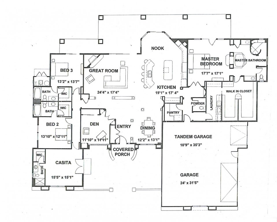 Courtyard 3885 Floorplan