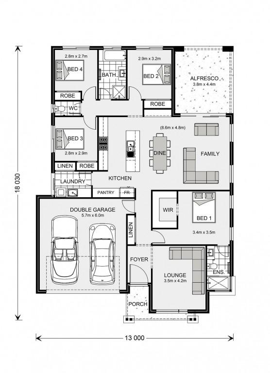Vista 211 Floorplan
